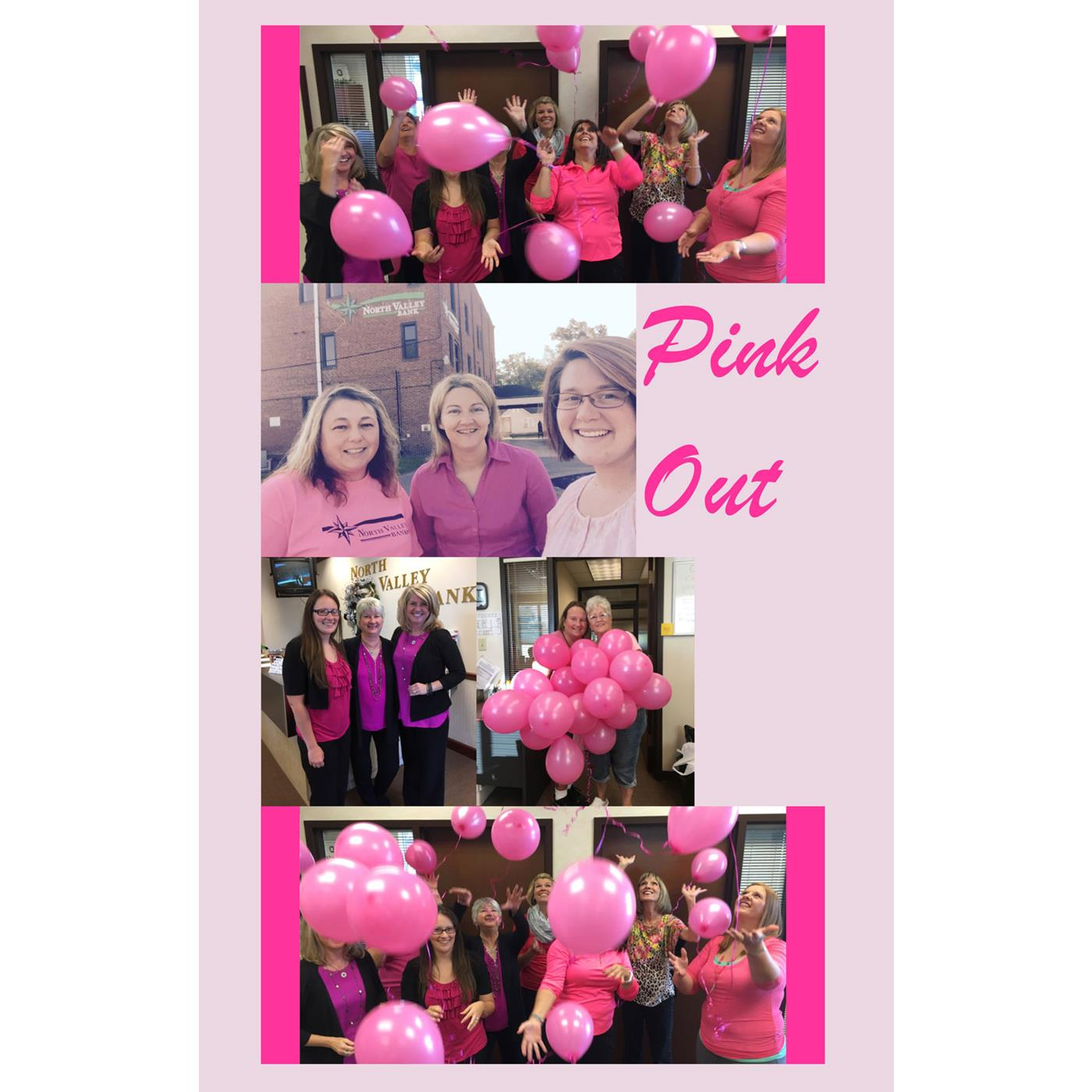 Community Bank Pink Out