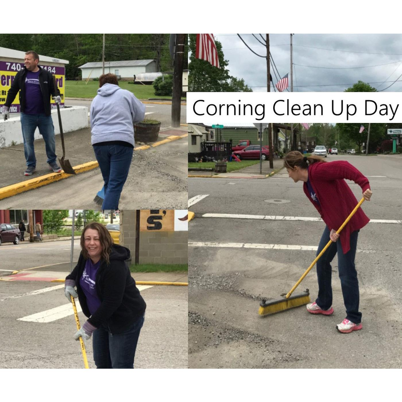 Cornings Community Cleanup Day