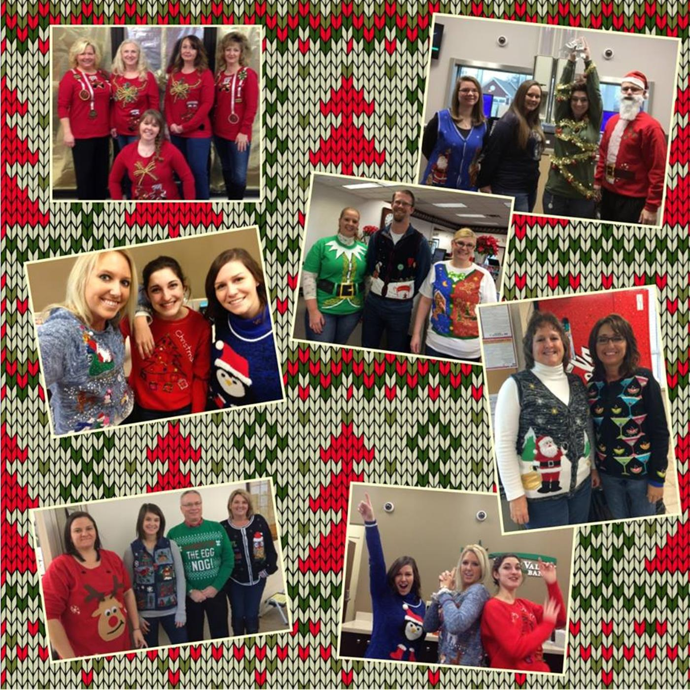 North Valley Bank Ugly Sweater Day